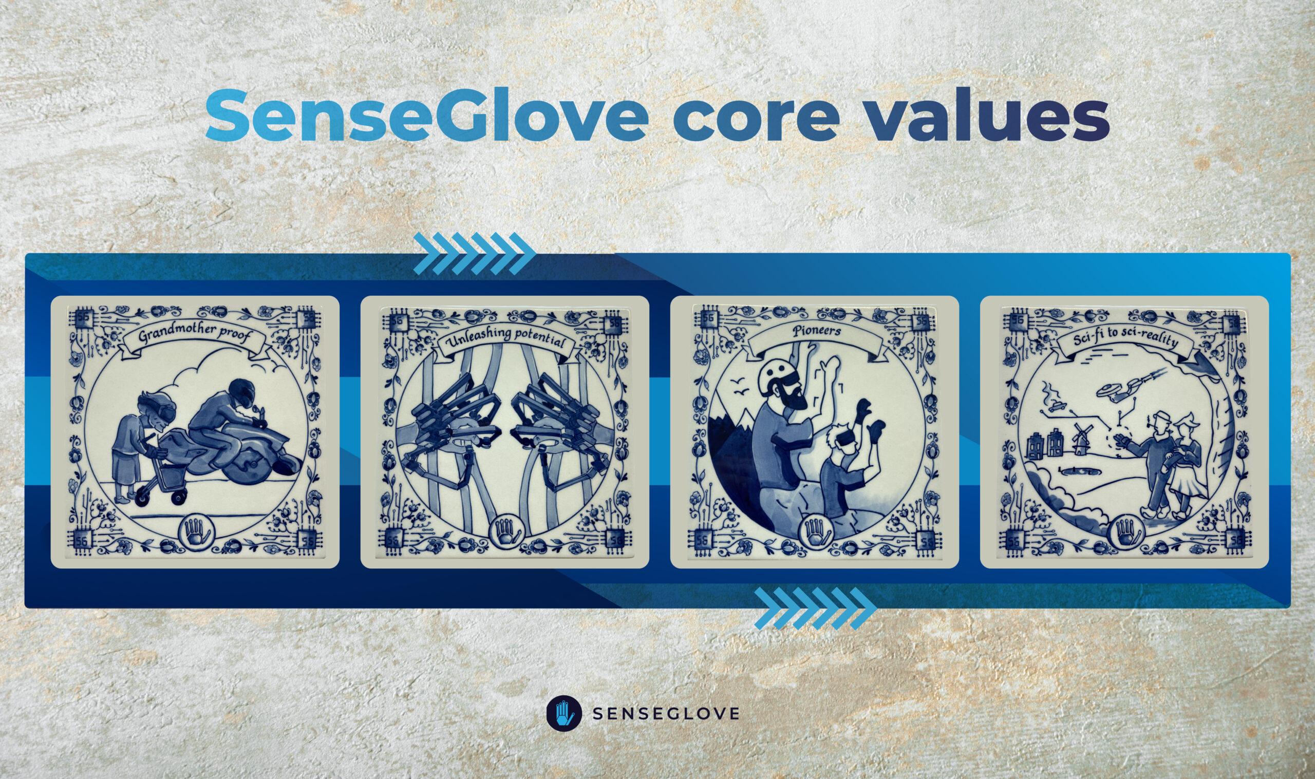 SenseGlove values